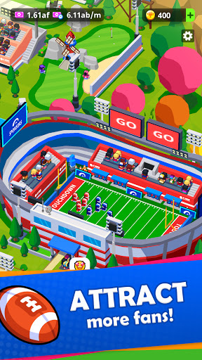 Sports City Tycoon - Idle Sports Games Simulator screenshot 4