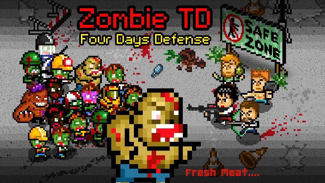 Zombie 4 Day Tower Defense TD 2 تصوير الشاشة