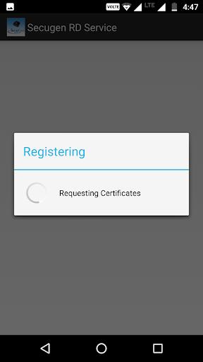 SecuGen RD Service screenshot 2