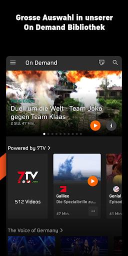 Zattoo - TV Streaming App screenshot 7