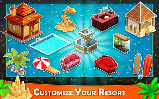 Resort Tycoon - Hotel Simulation 5 تصوير الشاشة