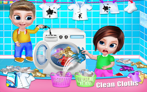 House Cleaning - Home Cleanup Girls Game screenshot 18