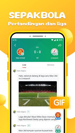Helo - Video Lucu, Status Whatsapp dan Sepakbola screenshot 3