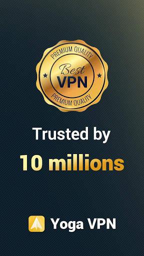 Yoga VPN - Free Unlimited & Secure Proxy & Unblock screenshot 1
