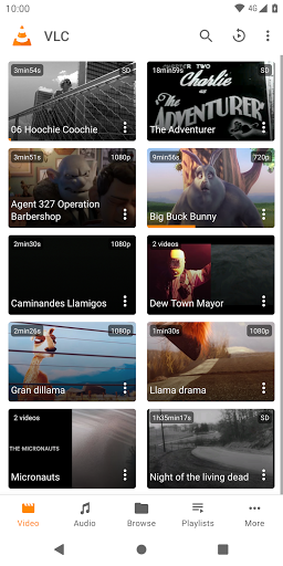 VLC for Android 1 تصوير الشاشة