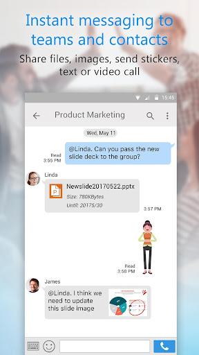 U Meeting, Webinar, Messenger screenshot 7