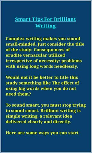 Writing Skills screenshot 4