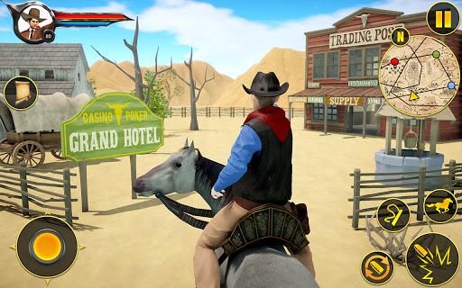 Cowboy Horse Riding Simulation screenshot 1