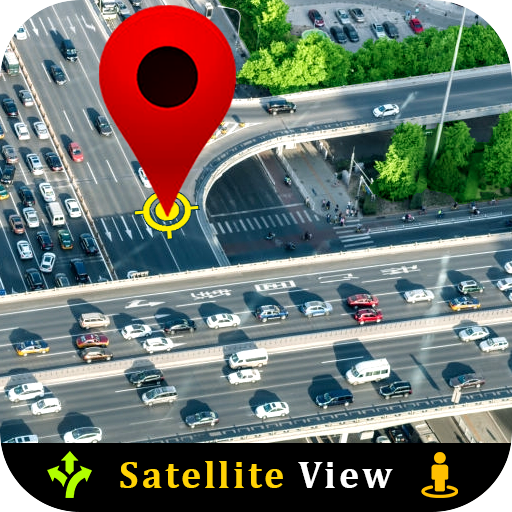 Live Satellite View GPS Map Travel Navigation icon