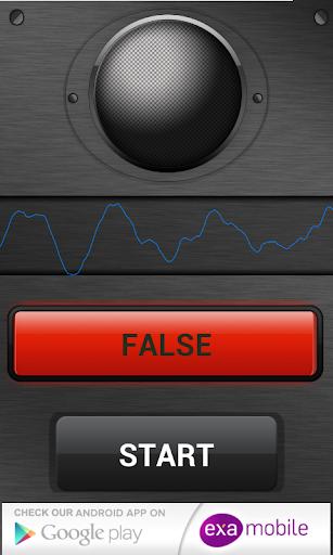 كشف الكذب صوت - مزحة 3 تصوير الشاشة