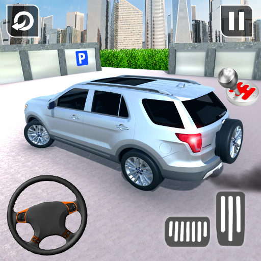 In Car Parking Games – Prado New Driving Game icon