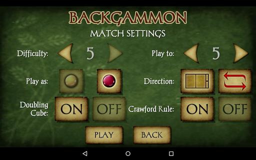 Backgammon Free 10 تصوير الشاشة