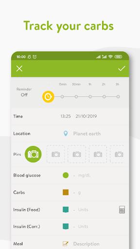 mySugr - Diabetes App & Blood Sugar Tracker screenshot 2