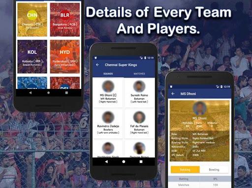 Live Score for IPL 2020 - Live Cricket Score 3 تصوير الشاشة