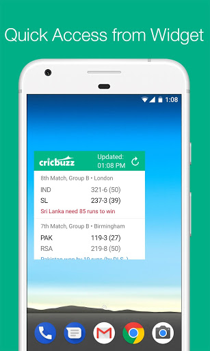 Cricbuzz - Live Cricket Scores & News स्क्रीनशॉट 5