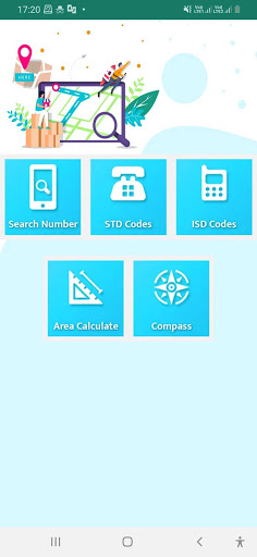 Mobile Number Location : Area Calculator & Compass 4 تصوير الشاشة