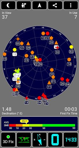 GPS Test 2 تصوير الشاشة