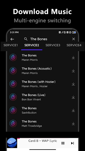 Free Music Downloader -Mp3 download music скриншот 2