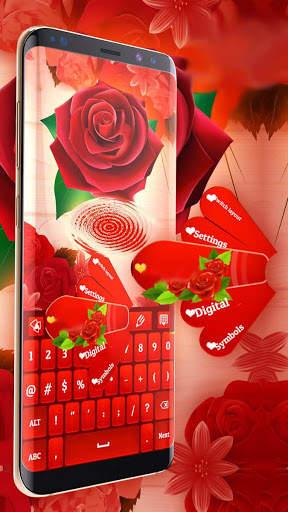 Red Rose Keyboard 2020 screenshot 6