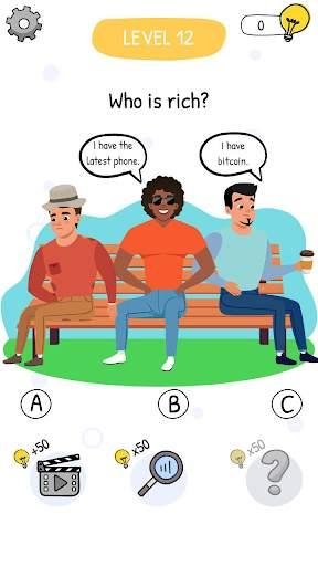 Who is? Brain Teaser & Riddles स्क्रीनशॉट 7