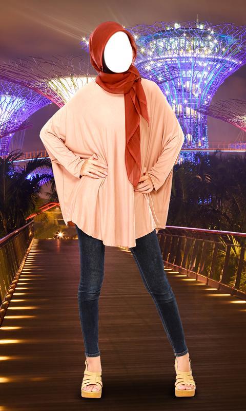Hijab Fashion Photo Maker - Photo Editor 6 تصوير الشاشة