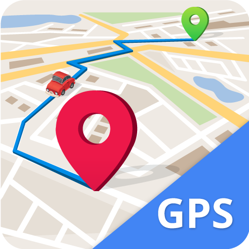 GPS, Maps, Navigate, Traffic & Area Calculating icon