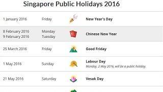 Singapore Calendar Horse 2020 screenshot 1
