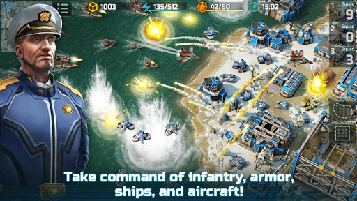 Art of War 3: PvP RTS modern warfare strategy game screenshot 3