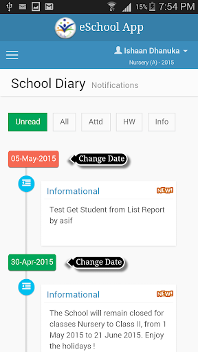 B R Modern School, Pauri screenshot 6