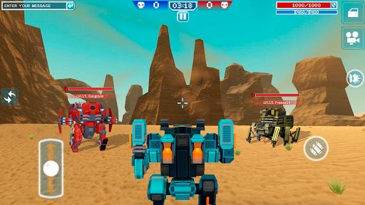 Blocky Cars - shooter & cars 6 تصوير الشاشة