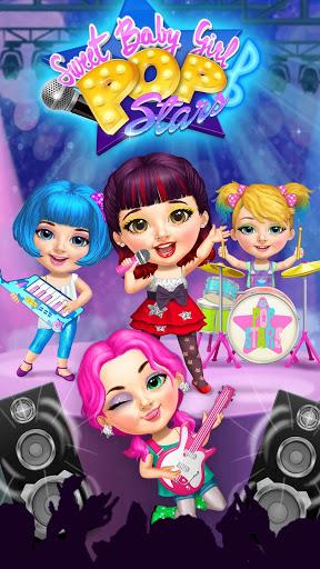 Sweet Baby Girl Pop Stars - Superstar Salon & Show 2 تصوير الشاشة