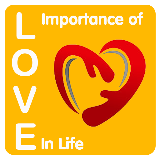 Importance Of Love In Life. icon