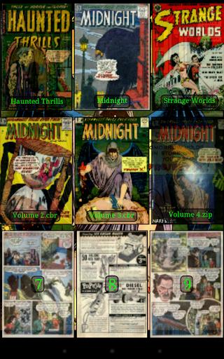 Challenger Comics Viewer 6 تصوير الشاشة
