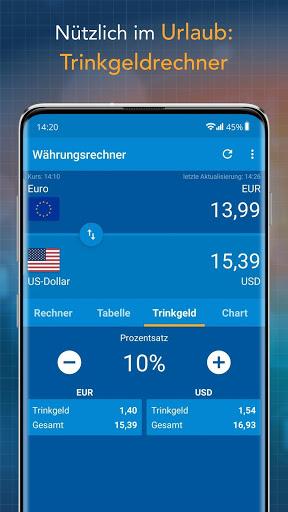 Currency Converter Finanzen100 screenshot 3