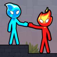 Stickman Red And Blue on 9Apps
