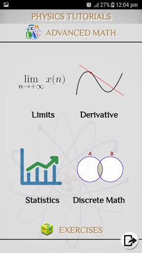 Physics - Tutorials - Lectures screenshot 5