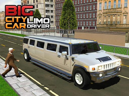 Big City Limo Car Driving Simulator : Taxi Driving 15 تصوير الشاشة