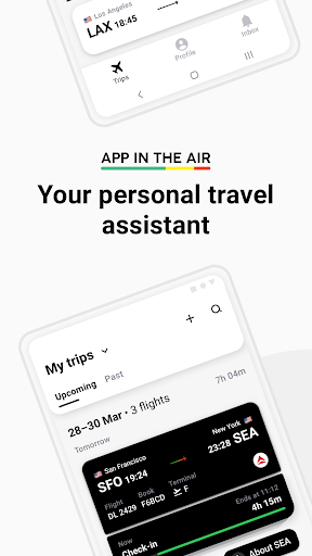 App in the Air - Personal travel assistant screenshot 1
