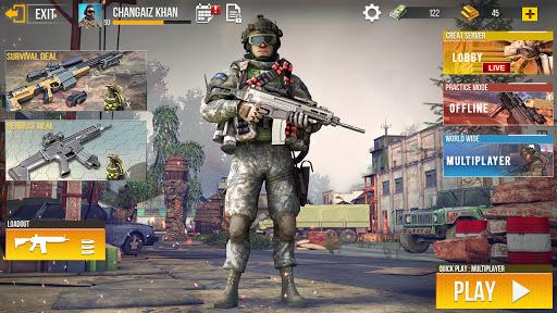 एफपीएस पीपीवी ऑफ़लाइन और ऑनलाइन मुफ्त शूटिंग खेल स्क्रीनशॉट 6