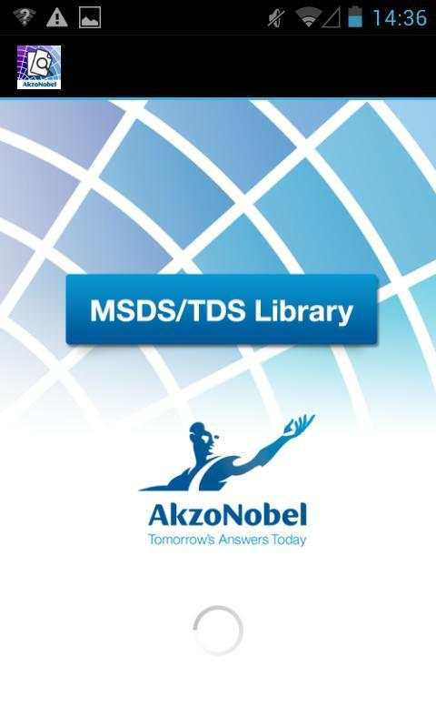 MSDS/TDS Library screenshot 1