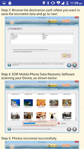 Mobile Phone Data Recovery DOC screenshot 5