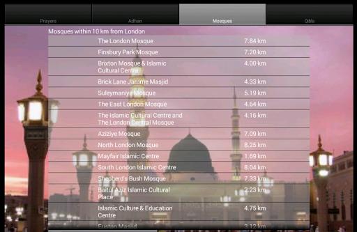 iAzan Prayer Time Mosque Qibla screenshot 6