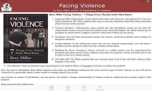 Facing Violence / Rory Miller screenshot 6