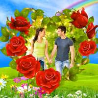 çiçekler fotoğraf editörü çerçeveler, çıkartmalar on APKTom
