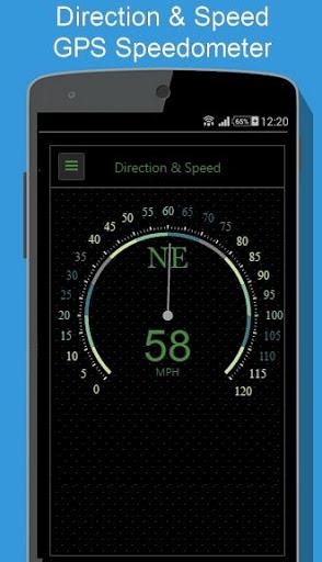 Regency Compass GPS & Speedometer Street View screenshot 2