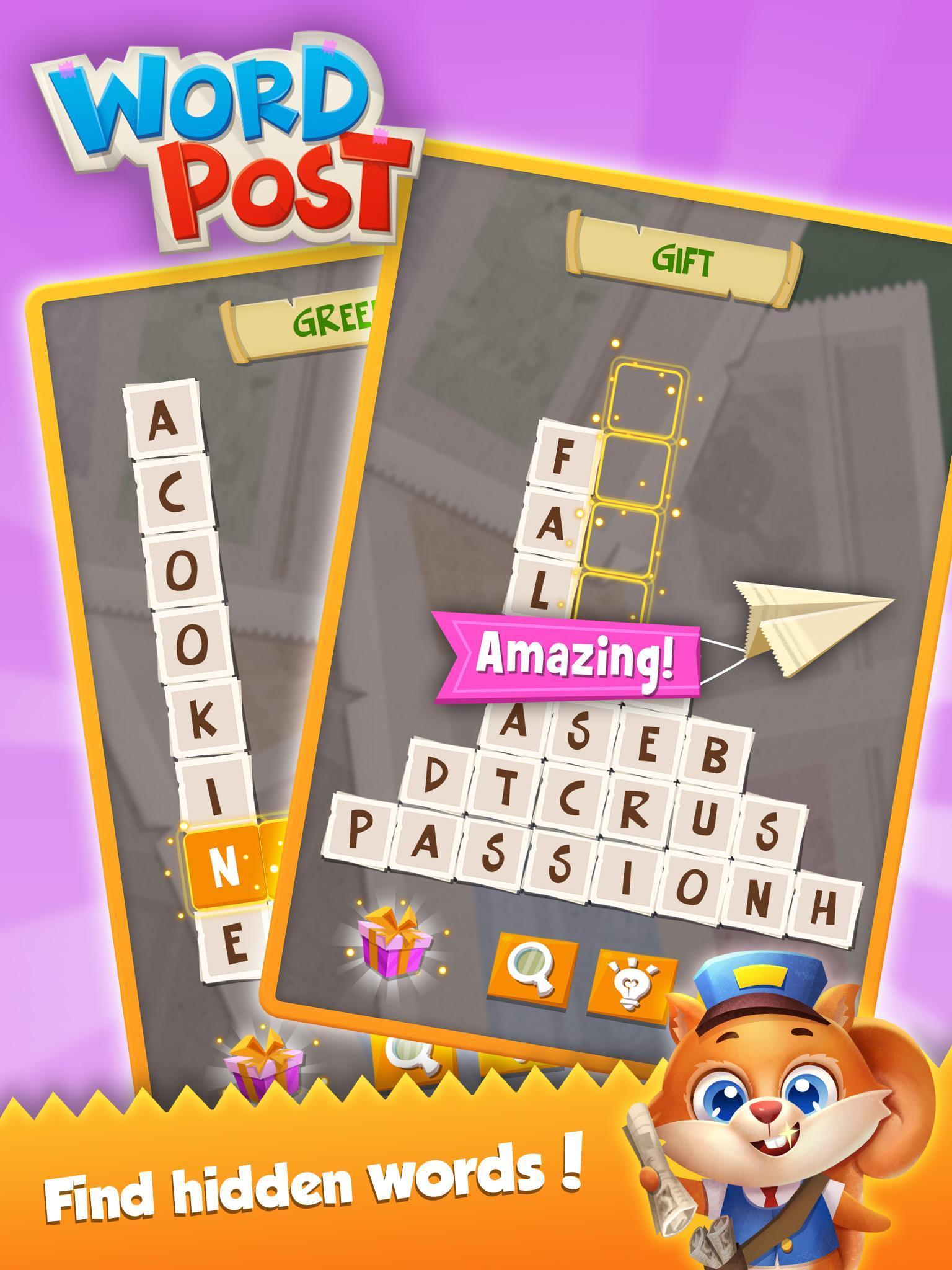 Word Post: Link & Crush Letters in Crossword Games screenshot 15