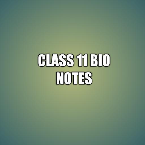 Class 11 Bio notes icon