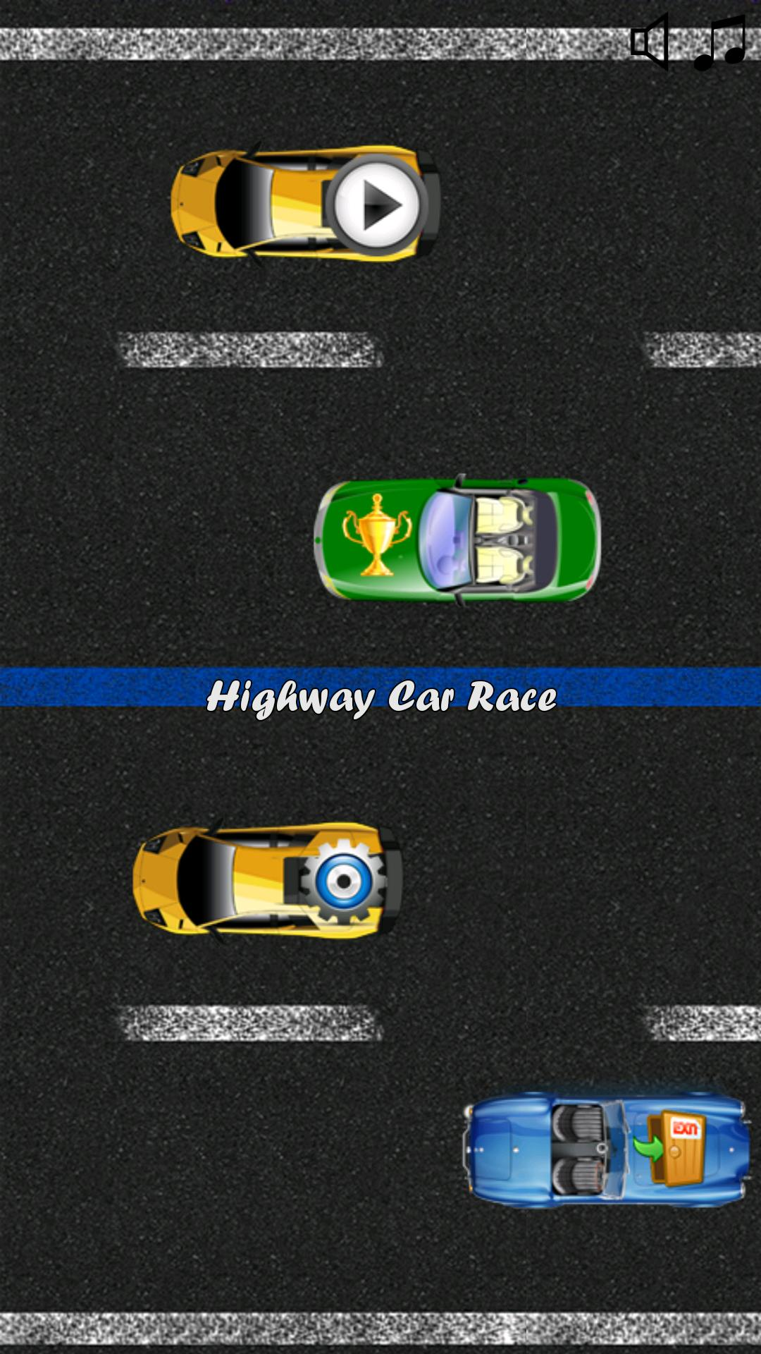 Highway Car Speed Game screenshot 1