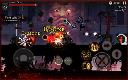 Shadow of Death: Darkness RPG - Fight Now screenshot 10