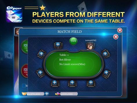 Co Poker 4 تصوير الشاشة